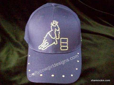 Low Profile Ball Cap-low profile ball cap, rhinestone caps,