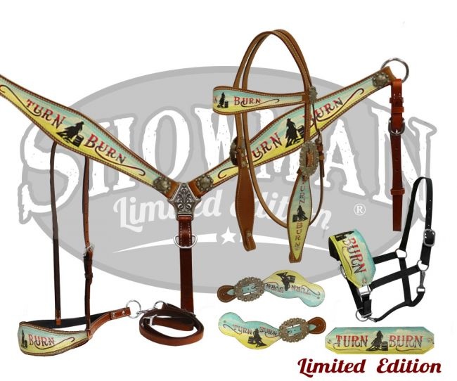 LIMITED EDITION  5 Piece Turn & Burn tack set