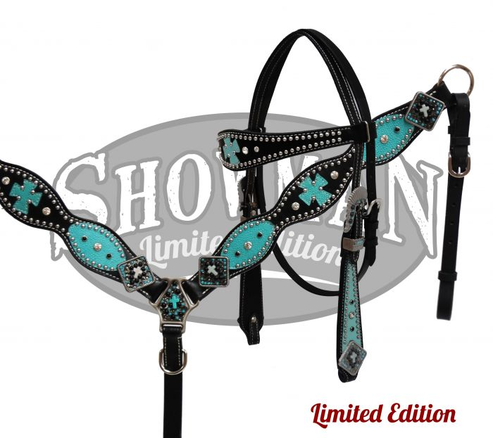 LIMITED EDITION Headstall and breast collar set