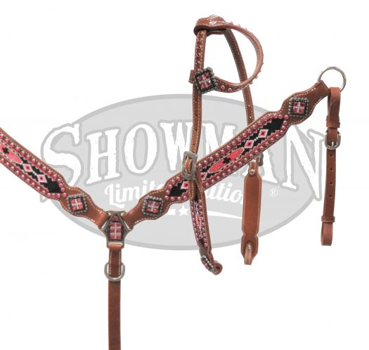 LIMITED EDITION  Beaded headstall and breast collar set- LIMITED EDITION  Beaded headstall and breast collar set