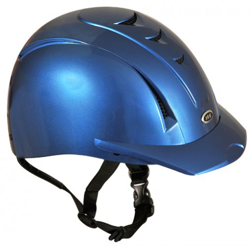 Equi Pro II helmet fron International Riding Helmets. -Blue Mist-Equi Pro II helmet fron International Riding Helmets. -Blue Mist