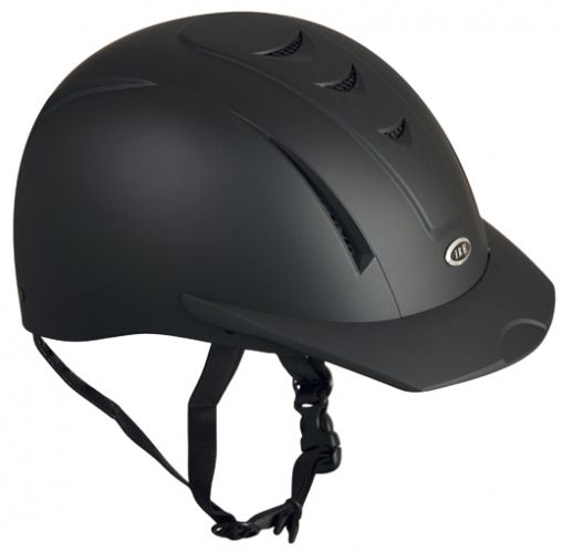 Equi Pro II helmet fron International Riding Helmets. -Matte Black-Equi Pro II helmet fron International Riding Helmets. -Matte Black