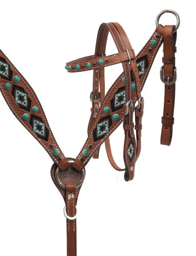 PONY headstall and breast collar set- PONY headstall and breast collar set
