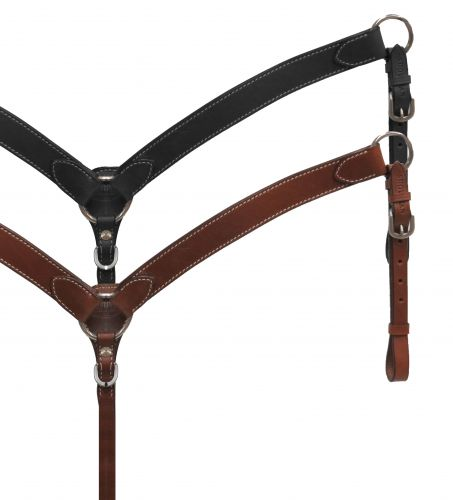 PONY leather breast collar