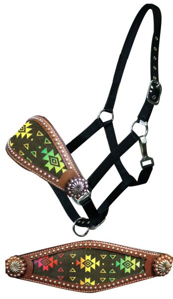 Navajo diamond bronc halter