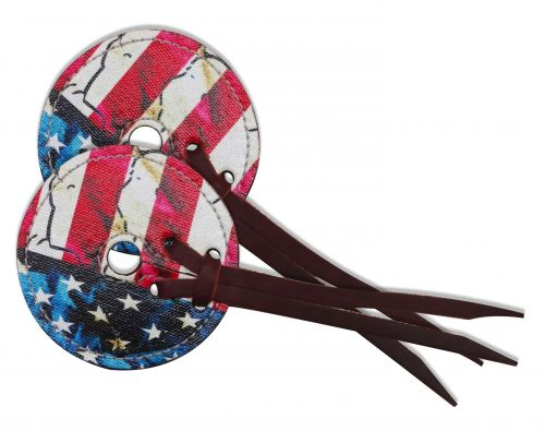 "3"" wide bit guard with American flag design-3 wide bit guard with American flag design"
