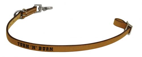 Turn 'N' Burn branded wither strap