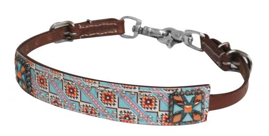 Navajo print wither strap-Navajo print wither strap