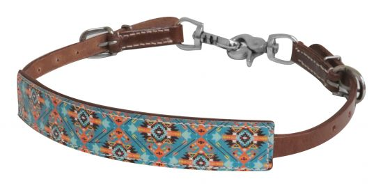 Navajo print wither strap