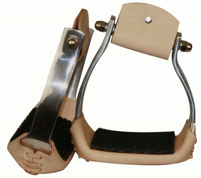 light weight angled aluminum stirrups