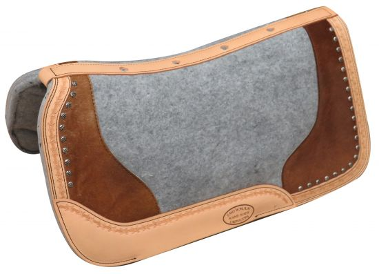 "PONY 24"" x 24""  Argentina cow leather saddle pad hair on cowhide"
