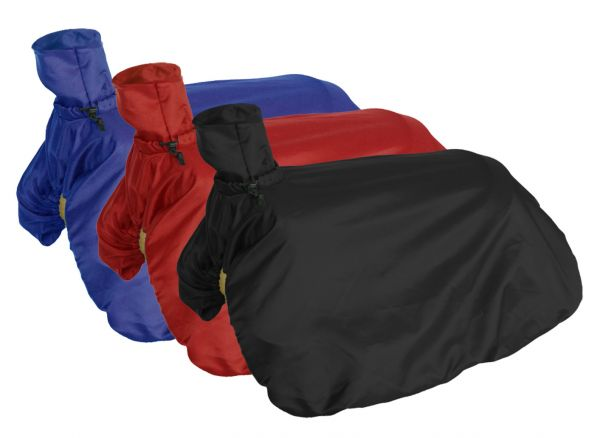 Fitted Nylon Saddle Cover.- Fitted Nylon Saddle Cover.