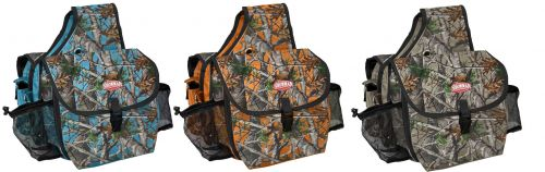 Real Oak insulated cordural nylon saddle bag