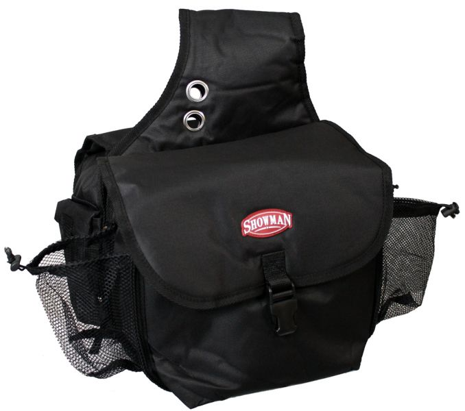 nylon cordura insulated saddle bag with buckle closure