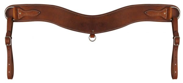 Heavy Duty Leather Tripping Collar-Heavy Duty Leather Tripping Collar