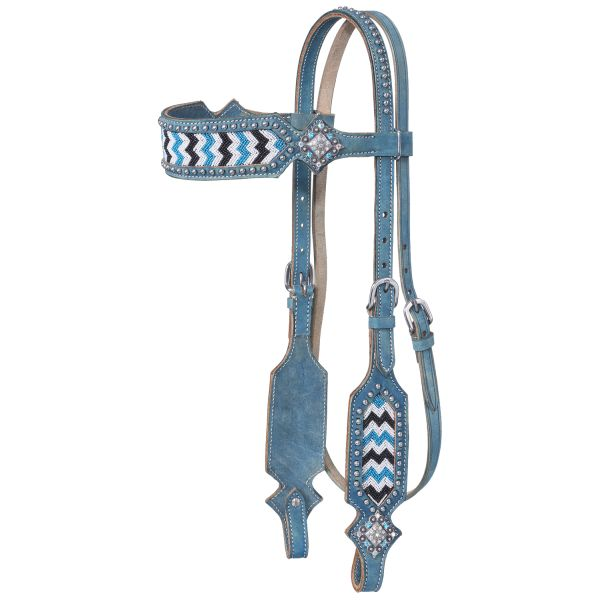 Chase Collection Browband Headstall-Chase Collection Browband Headstall