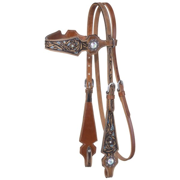 Skylar Collection Browband Headstall-Skylar Collection Browband Headstall