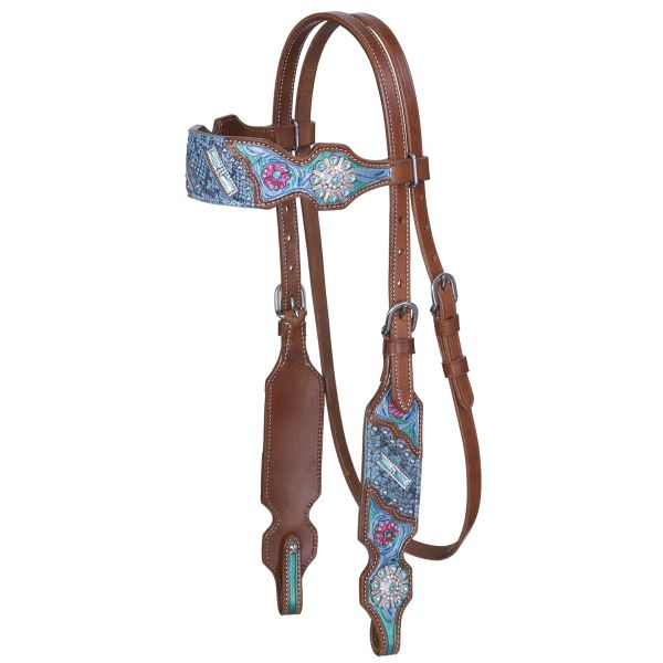 Macaelah Collection Browband Headstall-Macaelah Collection Browband Headstall