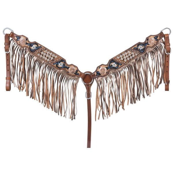 Savannah Collection Breastcollar w/Fringe-Savannah Collection Breastcollar w/Fringe