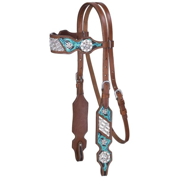 Ashton Collection Browband Headstall-Ashton Collection Browband Headstall