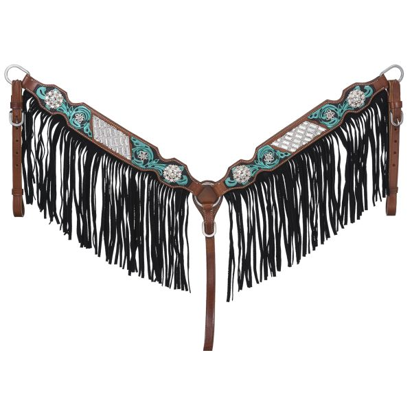 Ashton Collection Breastcollar w/Fringe-Ashton Collection Breastcollar w/Fringe