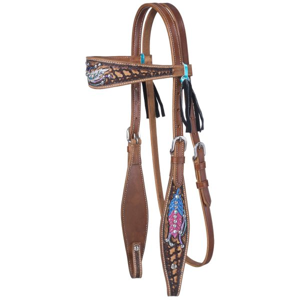 Delilah Collection Browband Headstall-Delilah Collection Browband Headstall