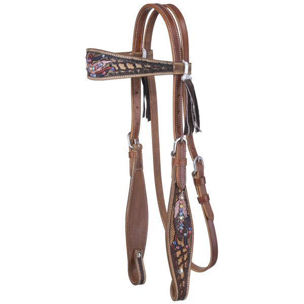 Naomi Collection Browband Headstall-Naomi Collection Browband Headstall