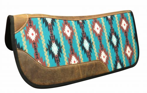 "31"" x 32"" Felt bottom Navajo saddle pad"
