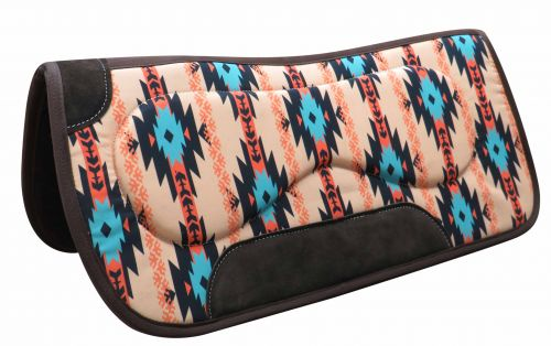 "31"" x 32"" Felt bottom Navajo saddle pad with built up sides- 31 x 32 Felt bottom Navajo saddle pad with built up sides"