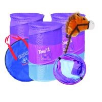 Jr. Barrel and Stick Horse Gift Set-Jr. Barrel and Stick Horse Gift Set