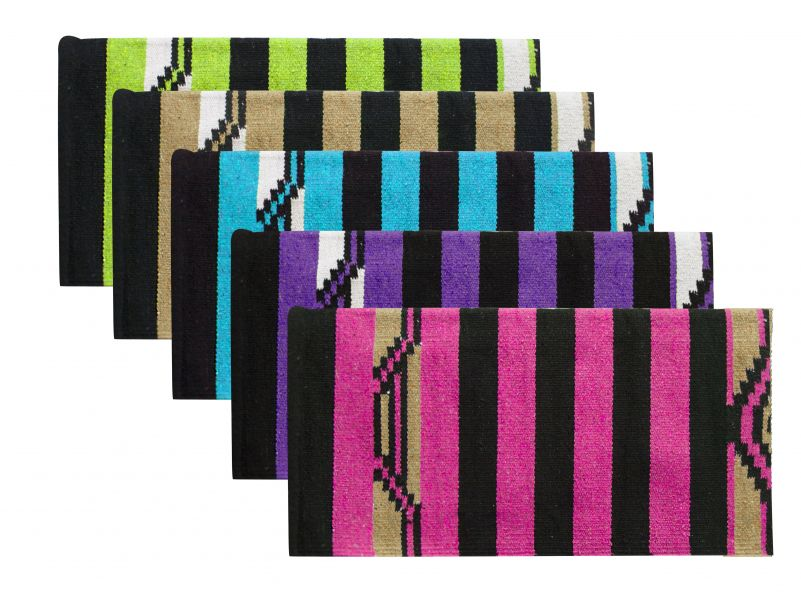 "32"" x 64"" Arcylic top saddle blanket with Navajo design.-32 x 64 Arcylic top saddle blanket with Navajo design."