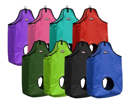 Double open nylon hay bag-Double open nylon hay bag