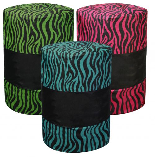 Zebra Print Barrel Cover