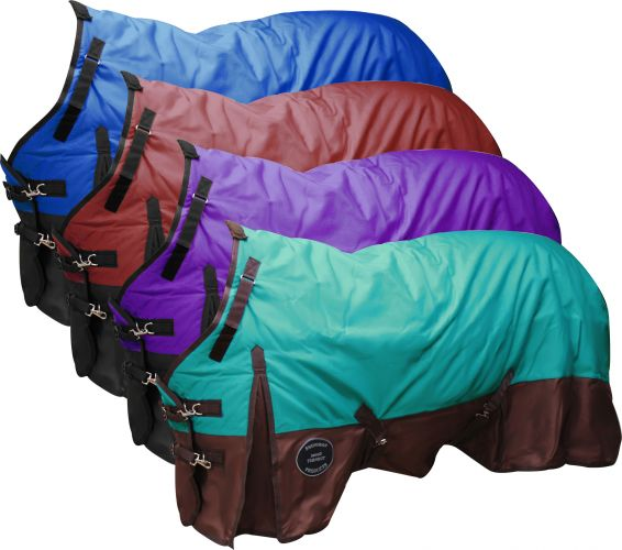 The Waterproof and Breathable Showman  Perfect Fit 1200 Denier Turnout Blanket