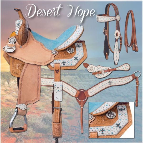 Desert Hope Barrel Saddle Package