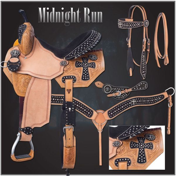 Midnight Run Collection Saddle Package-Midnight Run Collection Saddle Package