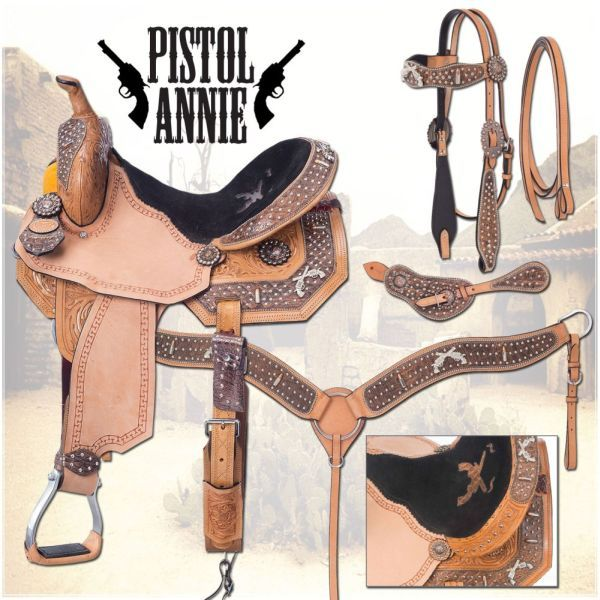 Pistol Annie Barrel Saddle Package