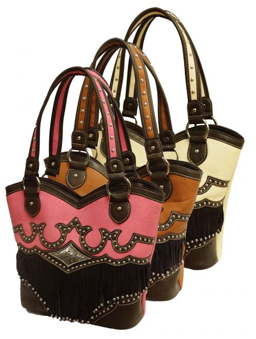 Montana West � Fringe collection handbag