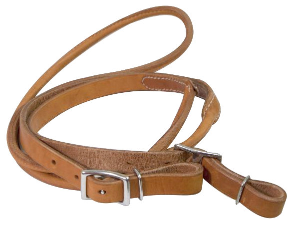 8ft Argentina cow leather contest reins- 8ft Argentina cow leather contest reins