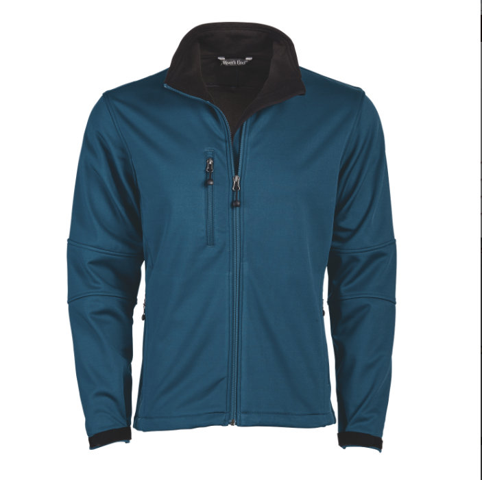 Men's Fleece-Lined Full-Zip Softshell-Men's Fleece-Lined Full-Zip Softshell