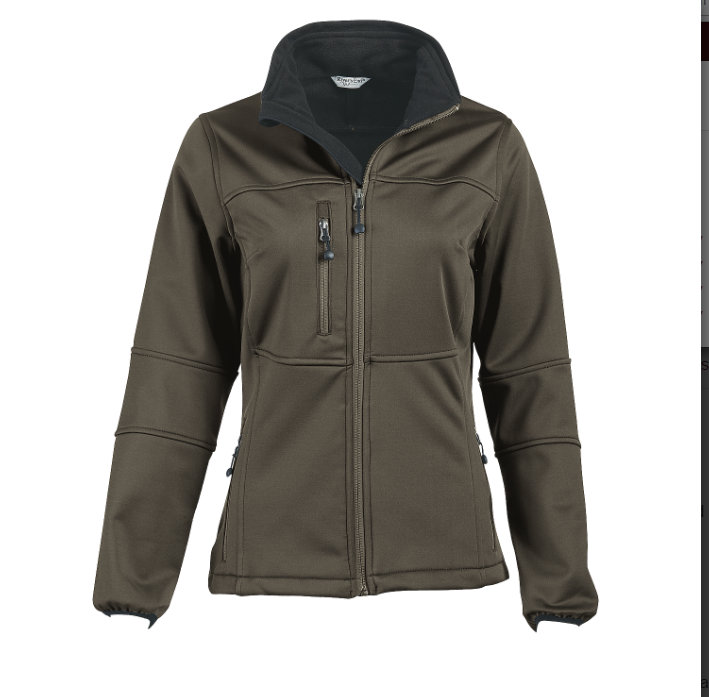 Women's Fleece-Lined Full-Zip Softshell
