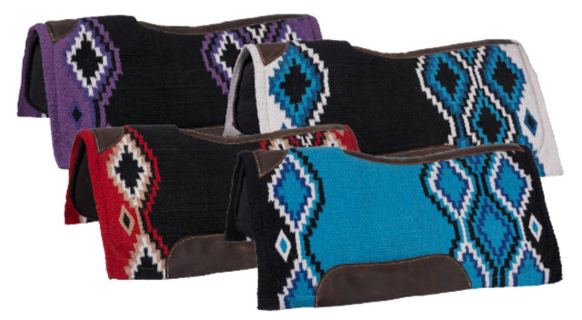 Contour Wool Lakota Saddle Pad