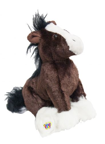 Webkins � Clydesdale horse plush