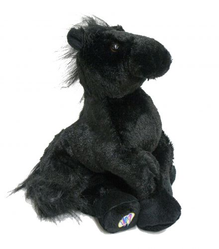 Webkins ® Black horse plush-Webkins ® Black horse plush