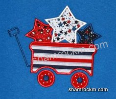 Star Wagon-4th of July, stars, wagons,