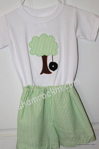Tree Swing Shorts Set-shorts sets, tree swing, custom clothing