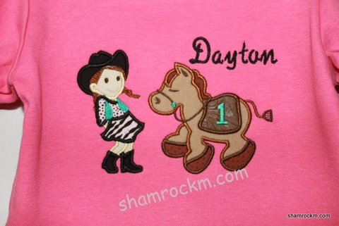 Little Cowgirl and Giddy Up Pony-little cowgirl and horse, little cowgirl and pony
