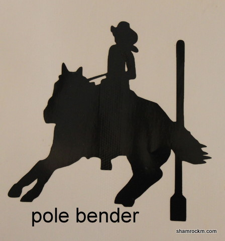 pole bender-pole bender vinyl decal