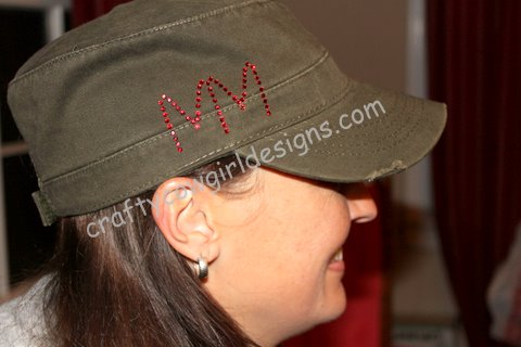 Distressed Military Cap 1-