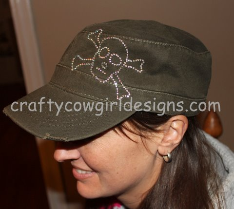 Distressed Military Cap 2-